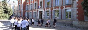 Rentree en classe au college du Luat